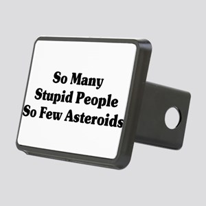 asteroids01x Rectangular Hitch Cover