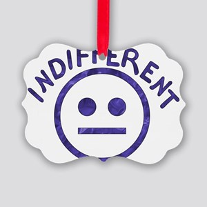 indifferent01 Picture Ornament