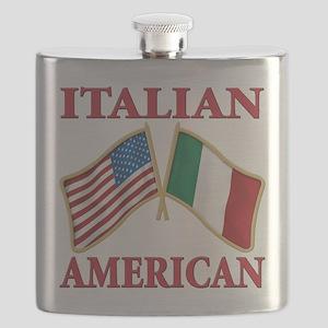 Italian american(blk) Flask