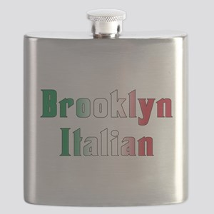 Brooklyn Italian.white Flask
