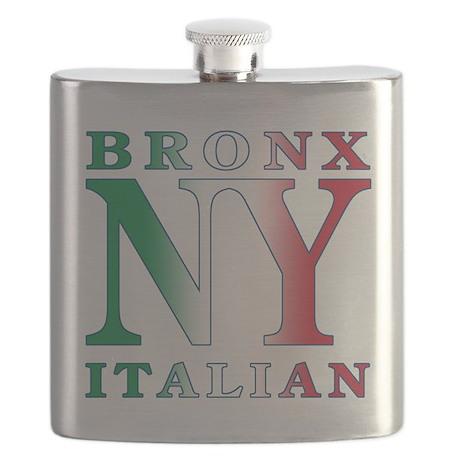 bronx italian.white.png Flask
