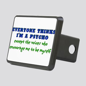 humor_saying_voices02 Rectangular Hitch Cover
