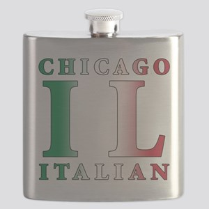 chicago Italian Flask