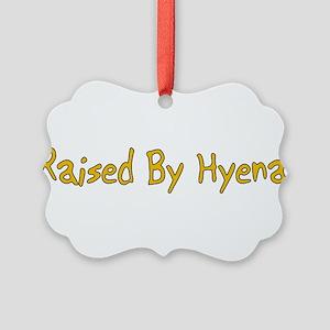 hyenas01b Picture Ornament