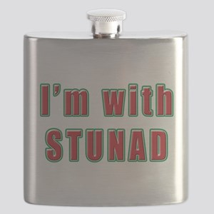 Italian im with stunad(white) Flask