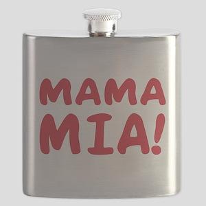 2-Mama mia(blk) Flask
