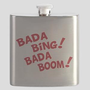 Bada bing bada boom T-Shirt Flask
