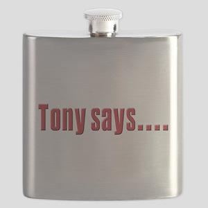 tony says Flask