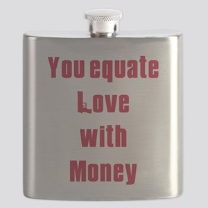 equate love with money Flask