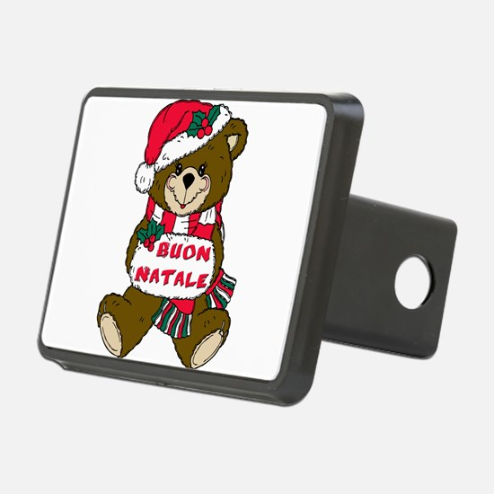 buon natale teddy bear(blk)1.png Hitch Cover