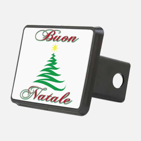 Buon Natale (blk).png Hitch Cover