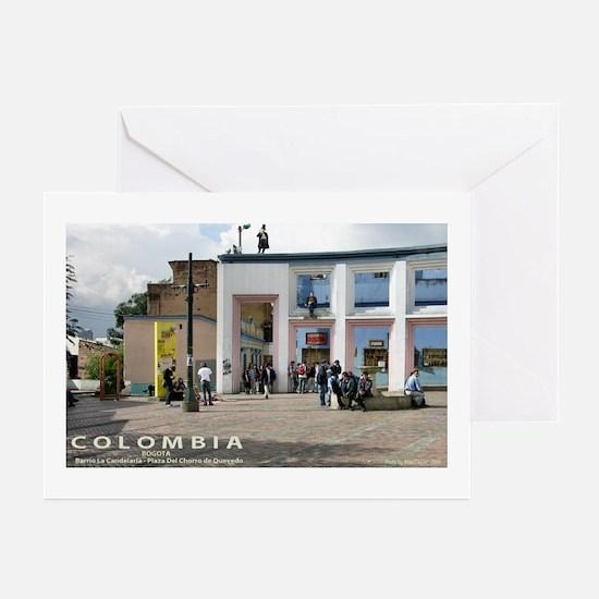 Plaza de Quevedo Greeting Cards (Pk of 10)