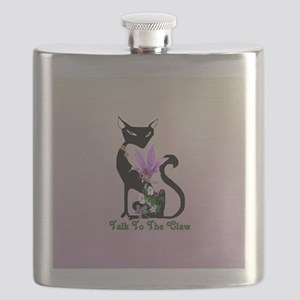 Cat Claw Flask