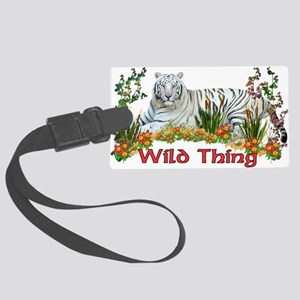 wildthing01a Large Luggage Tag