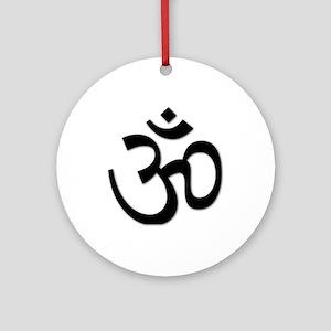 Yoga Icon Ornament (Round)