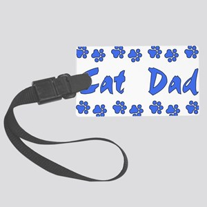 catdad01 Large Luggage Tag
