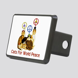 peacecats01 Rectangular Hitch Cover
