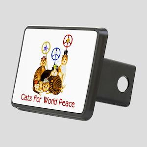 peacecats01 Rectangular Hitch Cover