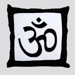 Yoga Icon Throw Pillow