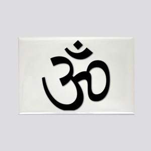 Yoga Icon Rectangle Magnet