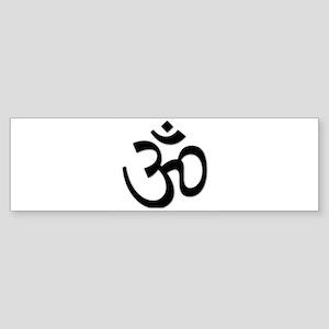 Yoga Icon Bumper Sticker