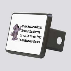 child_free_dog01 Rectangular Hitch Cover