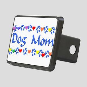 dogmom01 Rectangular Hitch Cover