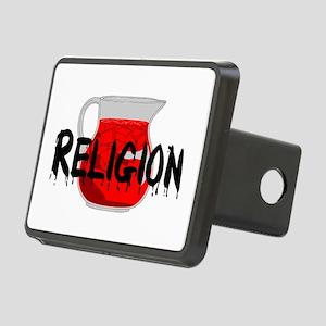 Religion Brainwashing Drin Rectangular Hitch Cover