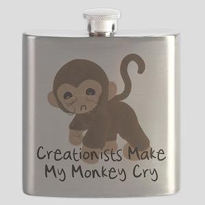 My Monkey Weeps Flask