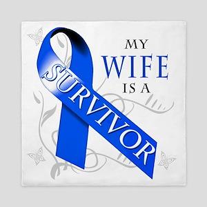 My Wife is a Survivor Queen Duvet
