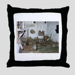 Patio del Moro Throw Pillow