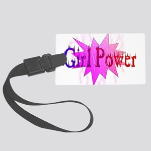 Girl Power Large Luggage Tag