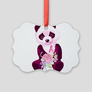 breastcancer02 Picture Ornament