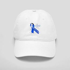 My Husband is a Survivor (blue) Cap