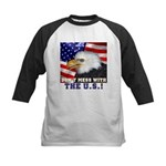 Don't Mess with the US! Kids Baseball Jersey