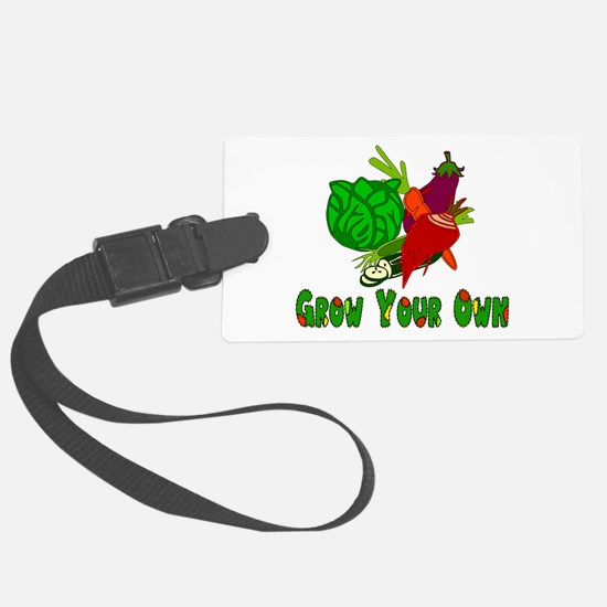 Grow Your Own Luggage Tag