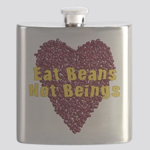 Eat Beans Not Beings Flask