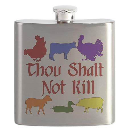 Thou Shalt Not Kill Flask