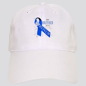My Brother is a Survivor (blue) Cap