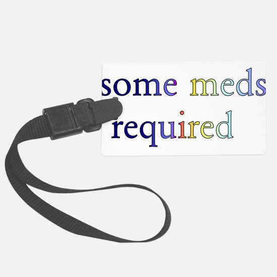 meds01 Luggage Tag