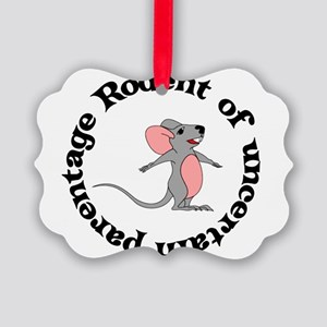 rodent01 Picture Ornament
