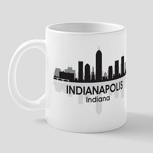 Indianapolis Skyline Mug