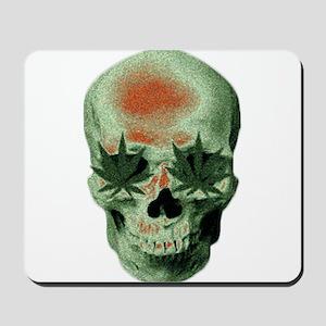 Stoner Skull Mousepad