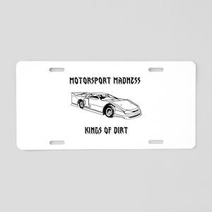 MM Logo Aluminum License Plate