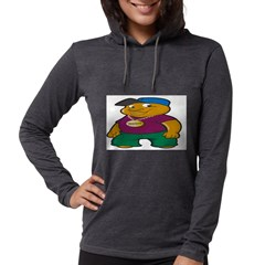 Booo! Womens Hooded Shirt