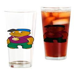 Booo! Drinking Glass