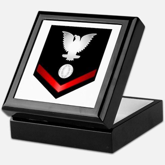 Navy PO3 Electrician's Mate Keepsake Box