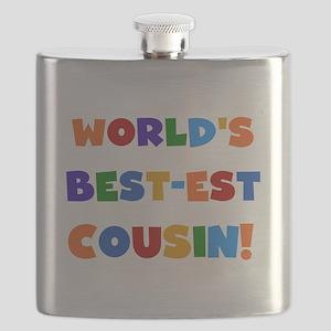 World's Best-est Cousin Flask