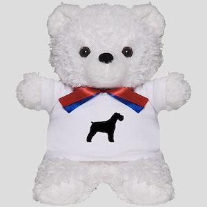 Floppy Ears Schnauzer Teddy Bear