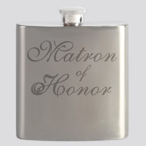sheergraymatronhonor Flask
